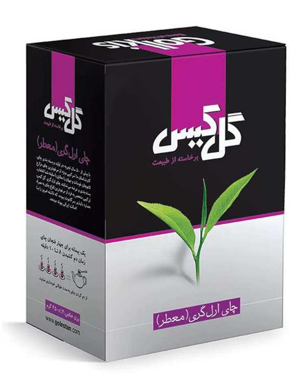 چای ارل گری معطر 450 گرمی گل کیس