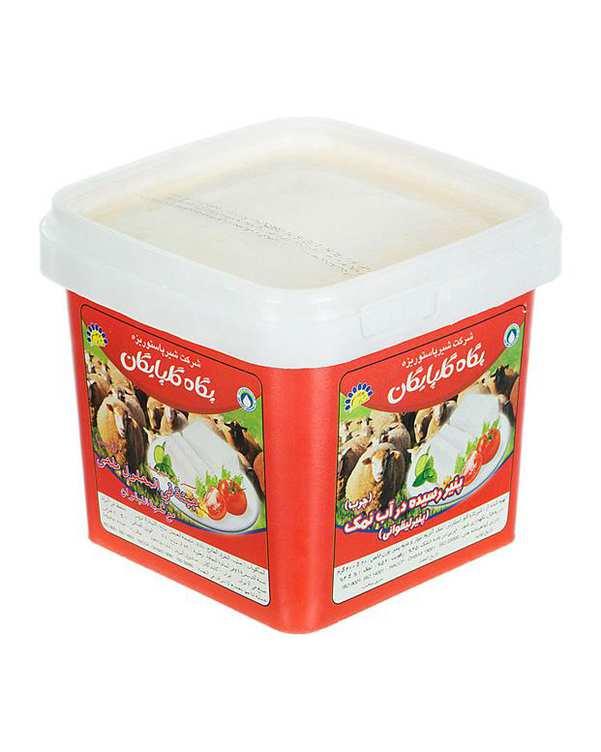 پنیر رسیده در آب نمک با طعم لیقوانی 400 گرمی پگاه