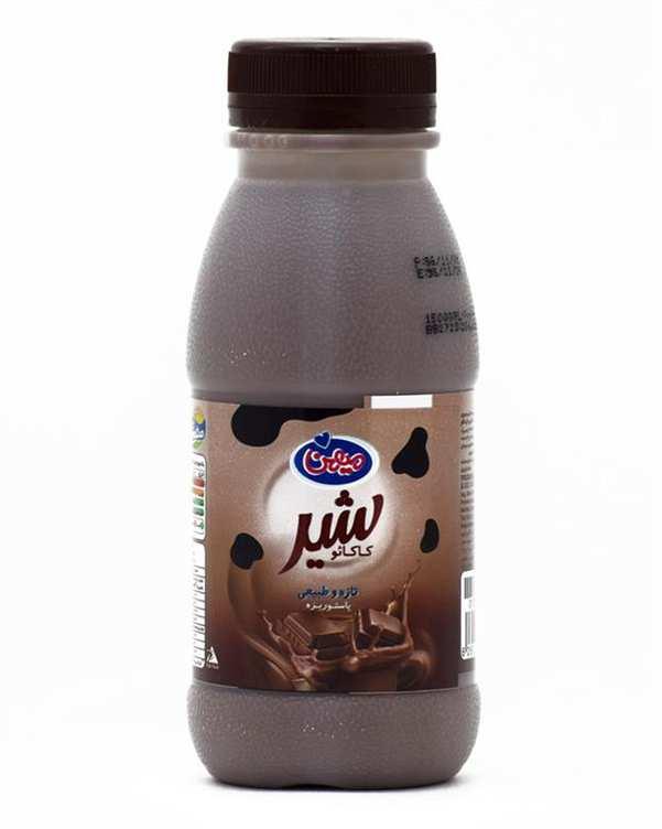 شیرکاکائو 230 میلی لیتری میهن