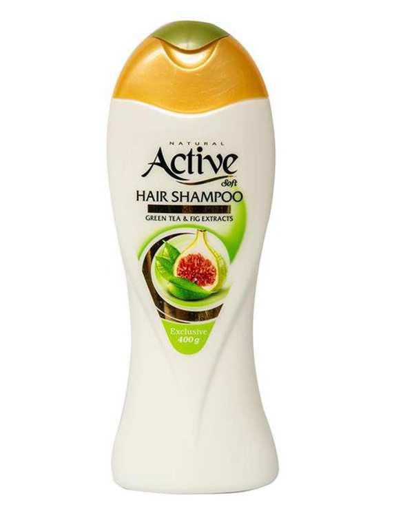 شامپو حجم دهنده مخصوص موهای نازک و چرب 400 گرمی اکتیو