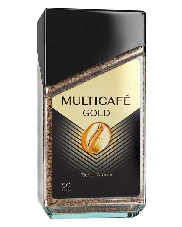 قهوه گلد 100 گرمی مولتی کافه