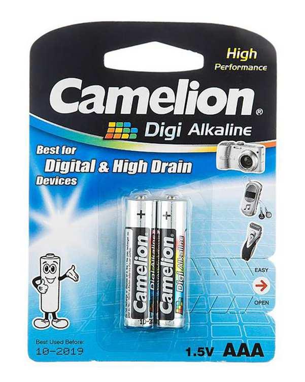 باتری نیم قلمی کملیون بسته 2 عددی
