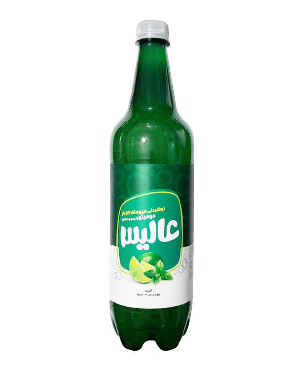 نوشیدنی گازدار لیمو نعنا 1 لیتری عالیس