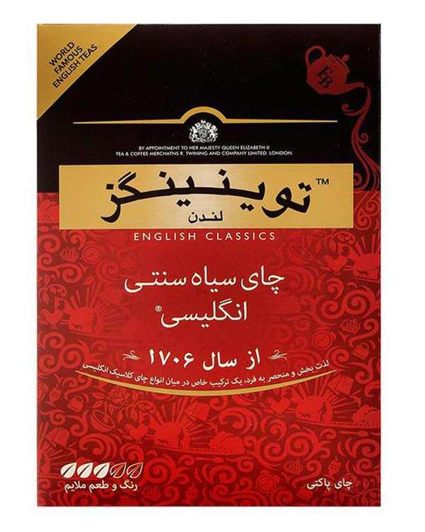 چای سیاه سنتی 450 گرمی توینینگز