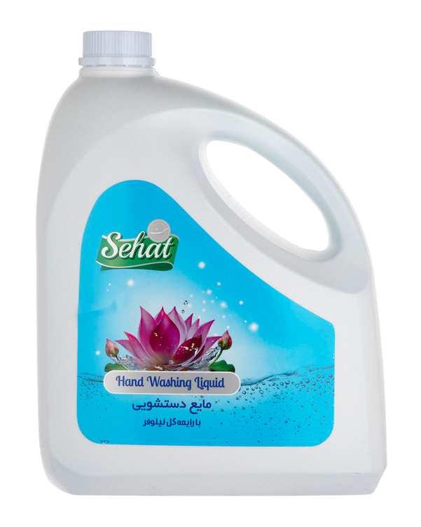مایع دستشویی با رایحه گل نیلوفر4000 گرمی صحت