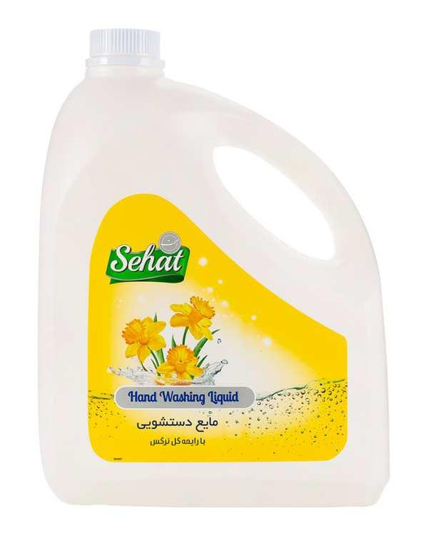 مایع دستشویی با رایحه گل نرگس4000 گرمی صحت