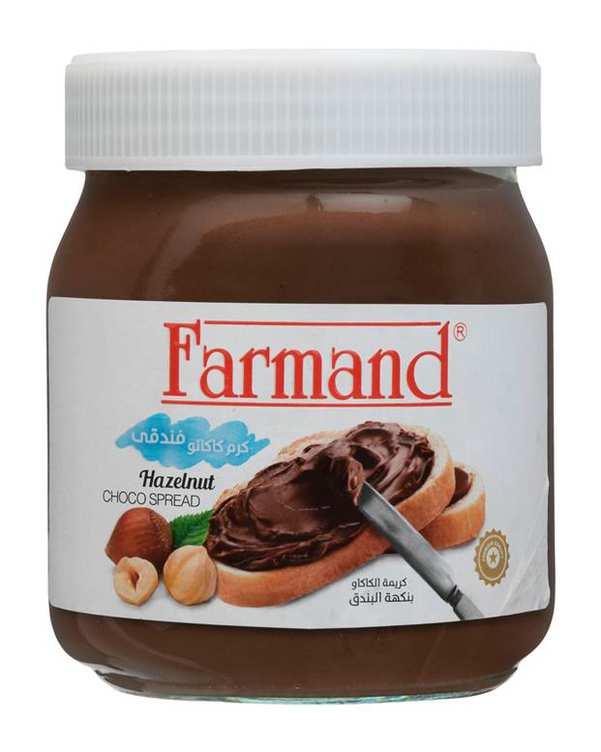 شکلات صبحانه دورنگ 330 گرمی فرمند