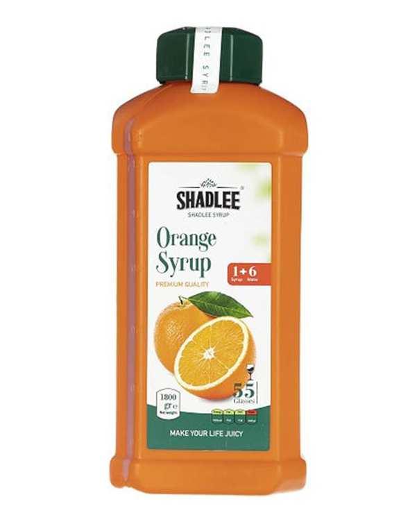 شربت پرتقال 1800 میلی لیتری شادلی