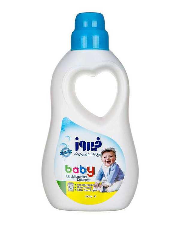 مایع لباسشویی کودک آبی 1000 گرمی فیروز