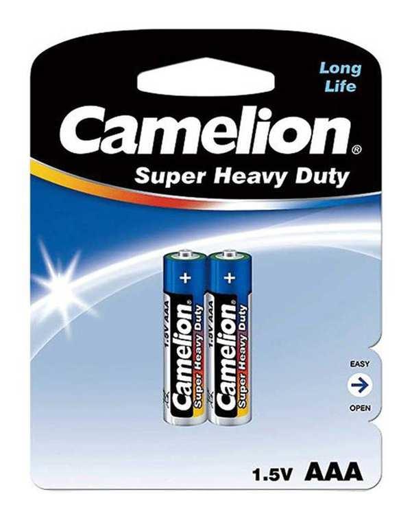باتری نیم قلمی Super Heavy Duty کملیون بسته 2 عددی