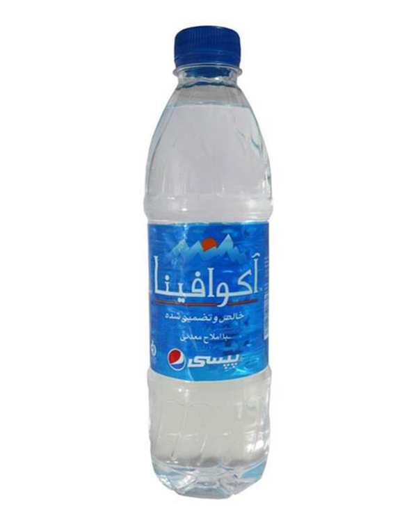 آب معدنی 0.5 لیتری آکوافینا