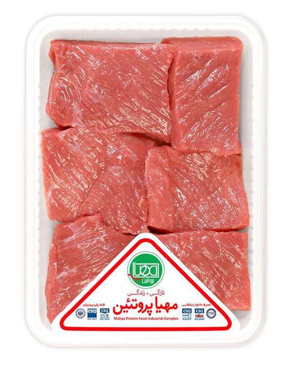 گوشت خورشتی گوساله 800 گرمی مهیا پروتئین