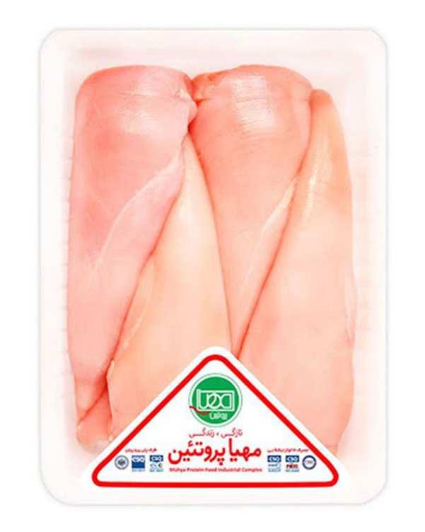 سینه مرغ بی استخوان 900 گرمی مهیا پروتئین