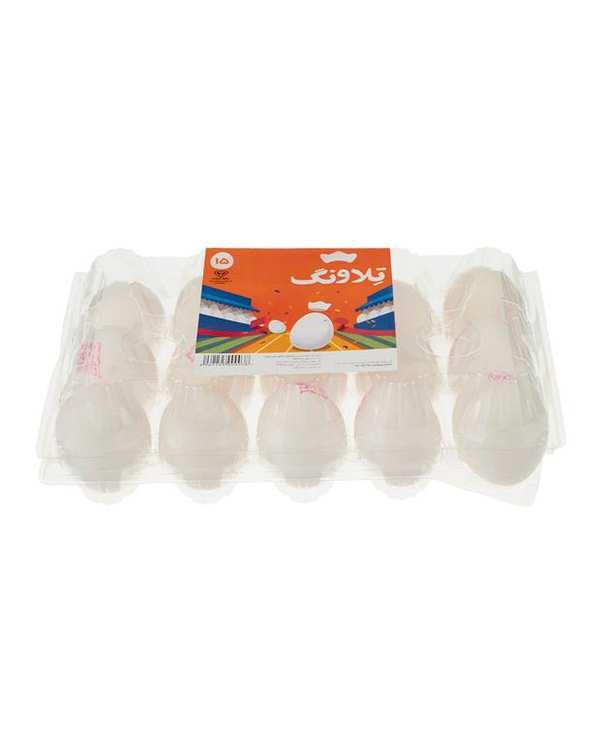تخم مرغ تلاونگ بسته 15 عددی