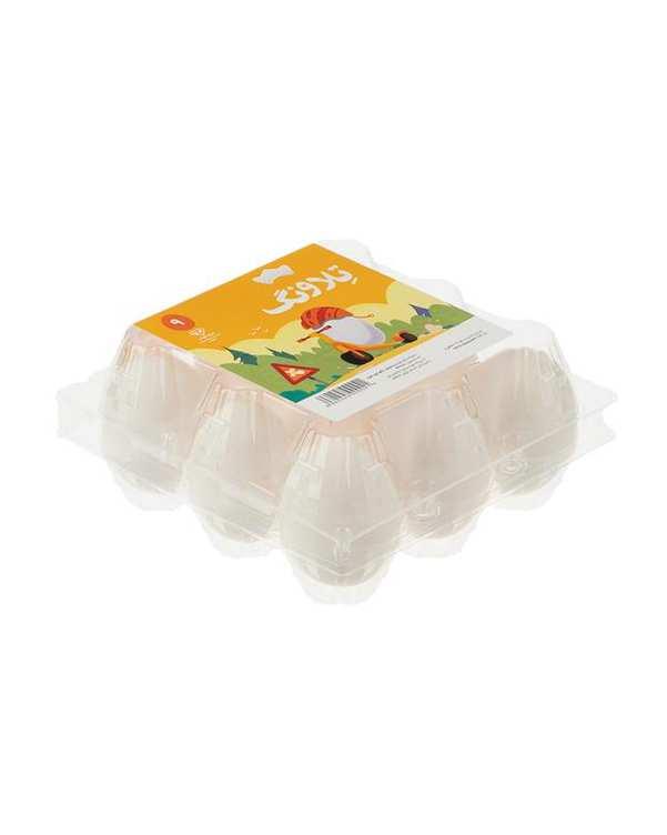 تخم مرغ تلاونگبسته 9 عددی