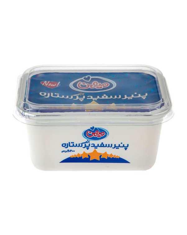 پنیر سفید پر ستاره 400 گرمی میهن