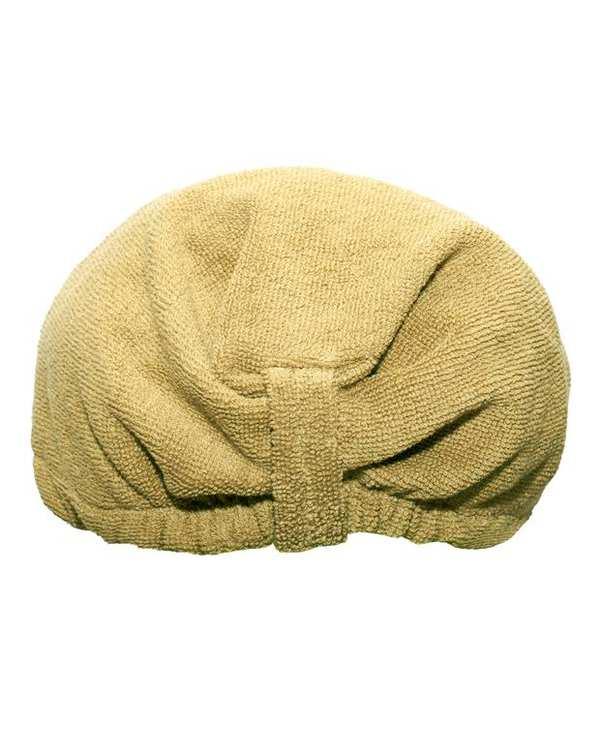 کلاه حمام بژ تیره بی ام ای