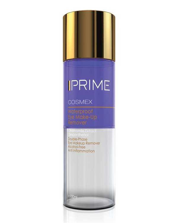محلول پاک کننده دو فاز آرایش مخصوص چشم و لب Cosmex پریم