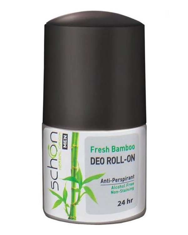 مام رول دئودورانت مردانه  24 ساعته Fresh Bamboo شون