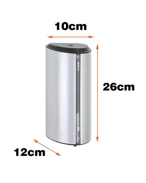 جا مایع دستشویی اتوماتیک مدل 30FL-850 نقره ای مشکی دلفین