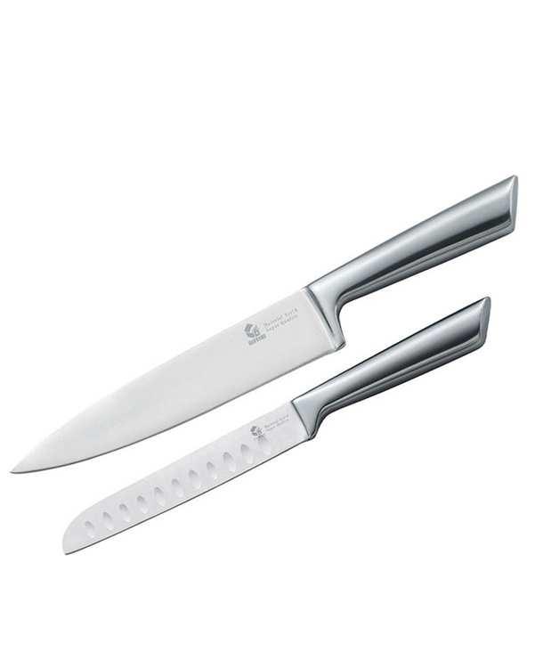 بسته 2 عددی چاقو آشپزخانه استیل مدل G.2.P.W جی فی نی