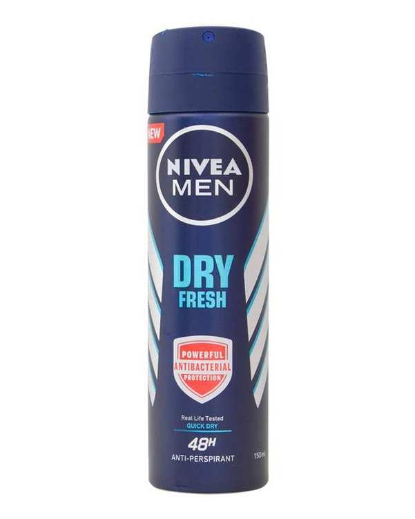 اسپری دئودورانت مردانه 48 ساعته 150ml Dry Fresh نیوآ