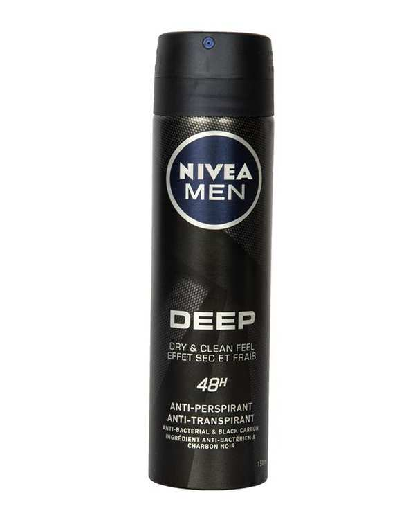 اسپری مردانه دئودورانت 48 ساعته 150ml Deep نیوآ