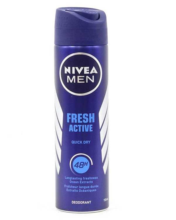 اسپری مردانه 48 ساعته Fresh Active 150ml نیوآ