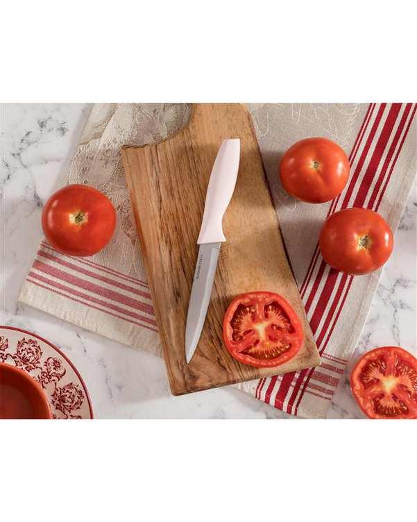 چاقوی آشپزخانه مدل Nancy صورتی روشن مادام کوکو