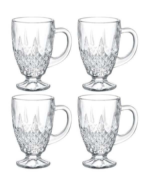 ست 4 عددی استکان چای خوری مدل Lasalle مادام کوکو