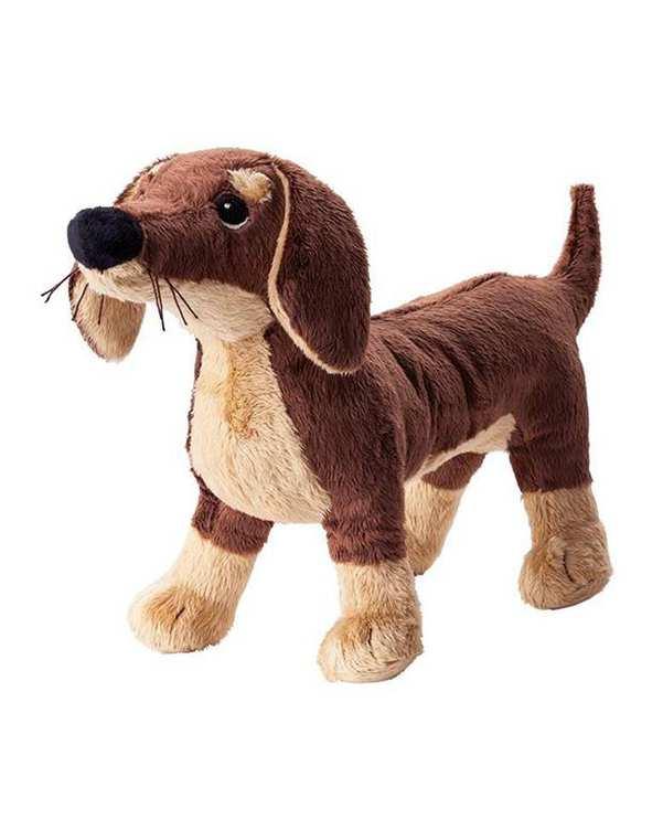 عروسک سگ مدل Smaslug قهوه ای ایکیا