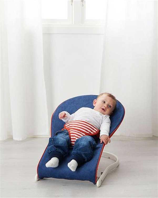 صندلی کودک مدل TOVIG آبی ایکیا