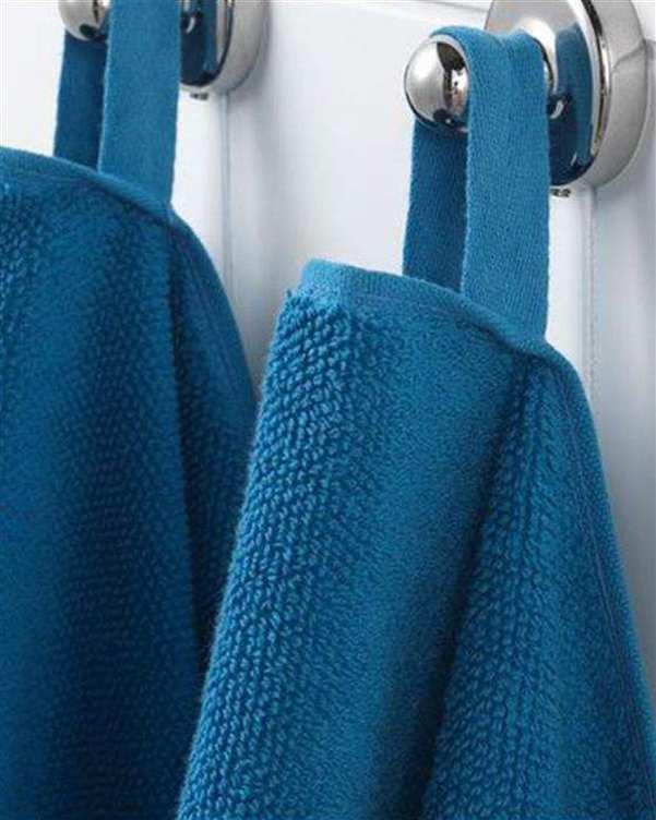حوله حمام مدل Vikfjard آبی ایکیا