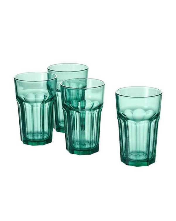 ست 4 عددی لیوان مدل 4X POKAL سبز ایکیا