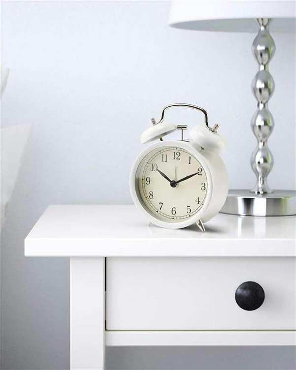 ساعت رومیزی مدل Dekad سفید ایکیا