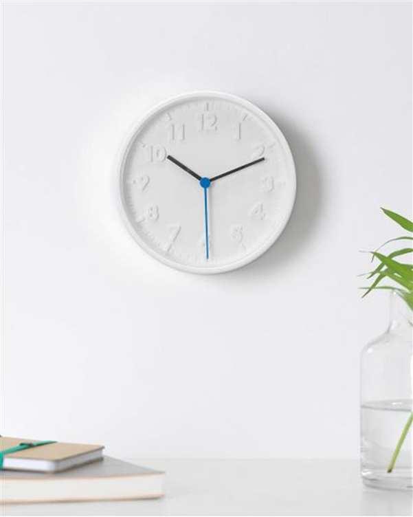 ساعت دیواری گرد مدل Stomma ایکیا