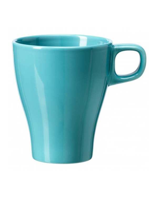 ماگ سرامیکی مدل FARGRIK آبی فیروزه ای ایکیا