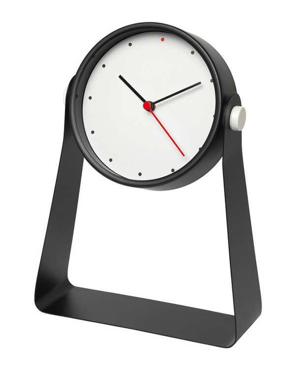 ساعت پایه دار مدل Gnissla مشکی ایکیا