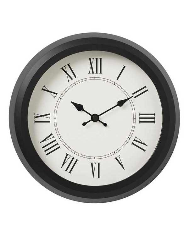 ساعت دیواری مدل Nuffra مشکی ایکیا