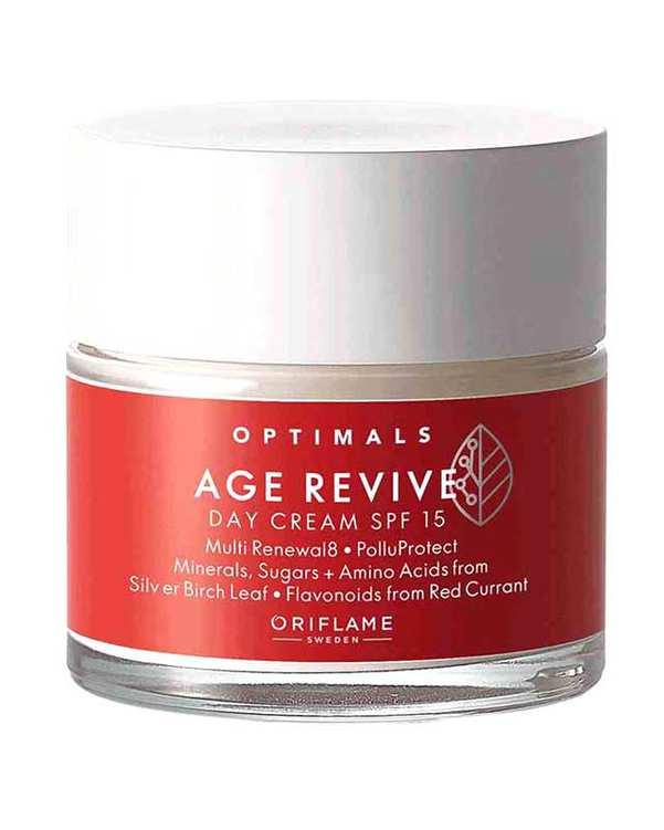 کرم ضد پیری صورت مخصوص روز با 50ml Age Revive Day Cream SPF 15 اوریفلیم