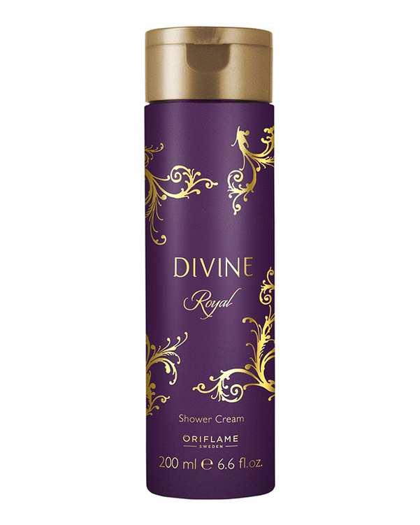 شامپو بدن ژلی دیواین 200ml Divine Royal اوریفلیم
