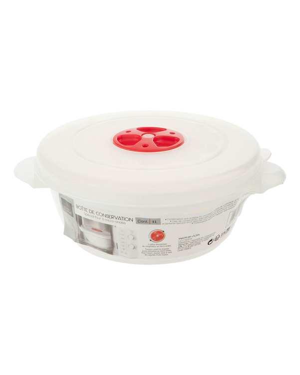 ظرف نگهدارنده غذا پلاستیکی سفید تاتی هوم