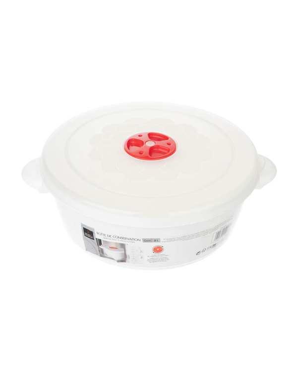 ظرف نگهدارنده پلاستیکی مدل S02 سفید تاتی هوم