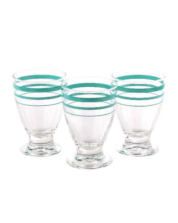 ست 3 عددی لیوان مدل YJ4 سبز آبی تاتی هوم |