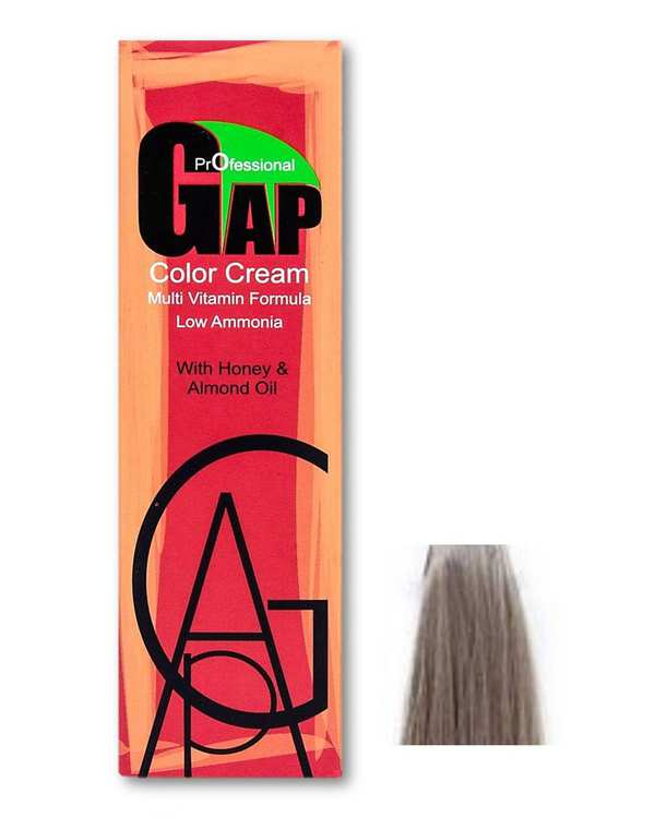 رنگ مو شماره 9.1 بلوند خاکستری خیلی روشن 100ml گپ