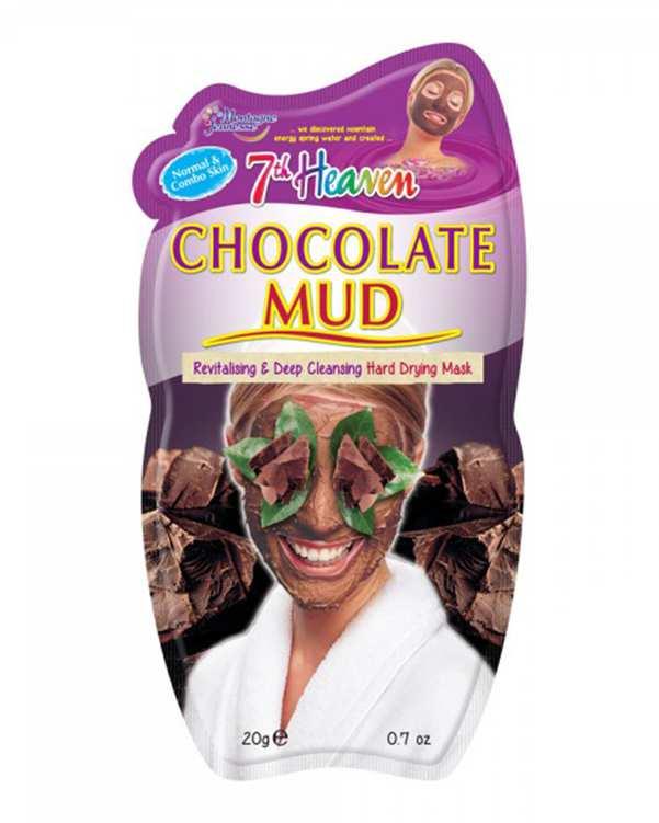 ماسک صورت گلی شکلات 7th Heaven Chocolate Mudمونته ژنه