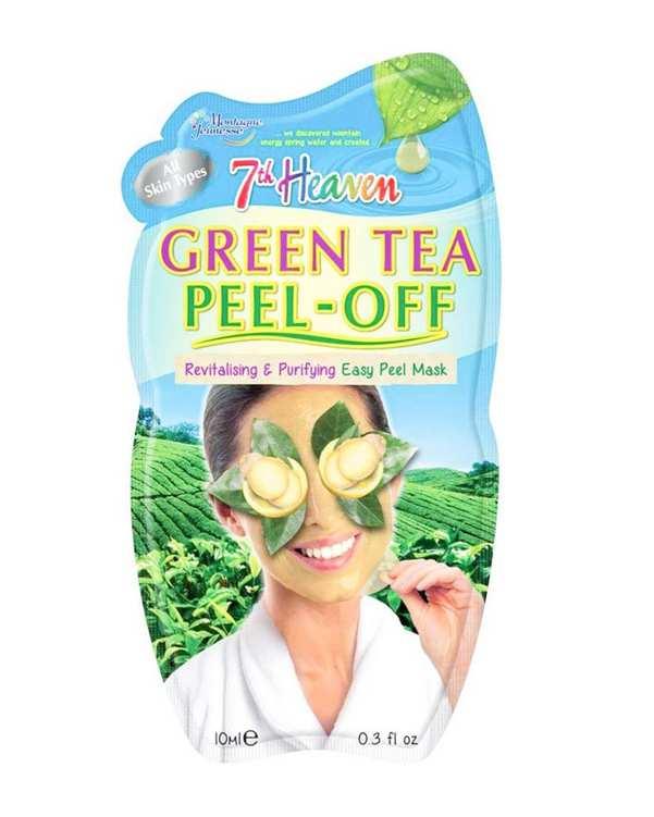 ماسک صورت لایه ای چای سبز 10ml 7th Heaven مونته ژنه