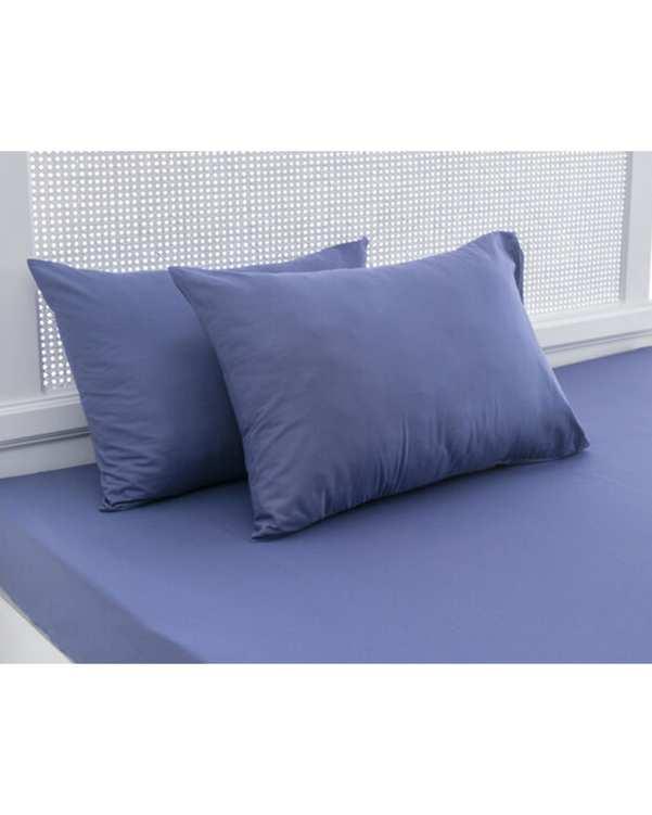 روکش بالش مدل Duz سایز 70*50 آبی تیره انگلیش هوم