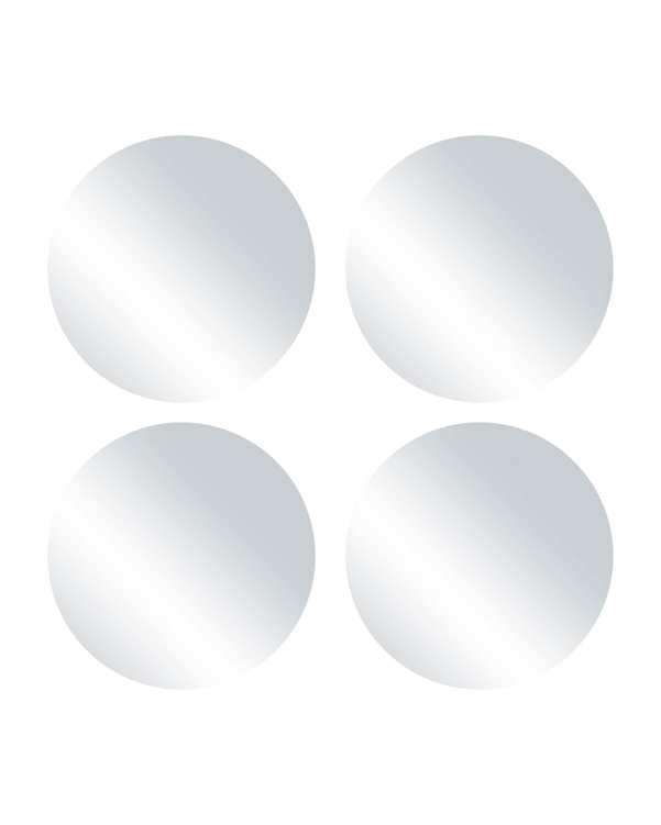 بسته 4 عددی آینه مدل S02 بی رنگ تاتی هوم