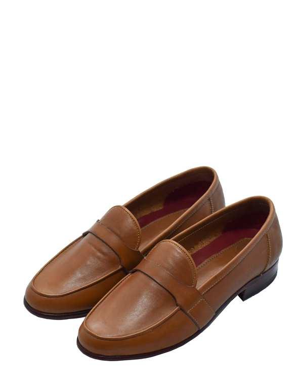 کفش چرم طبیعی گاوی زنانه مدل فرین کراست عسلیدگرمان